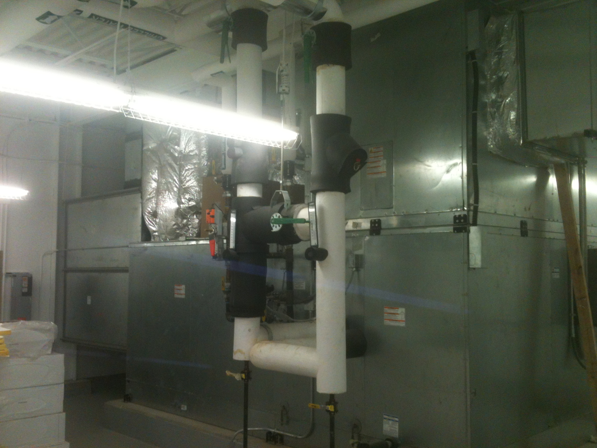 Air Handling Unit at Southwest Tennessee Community College Nursing Building
