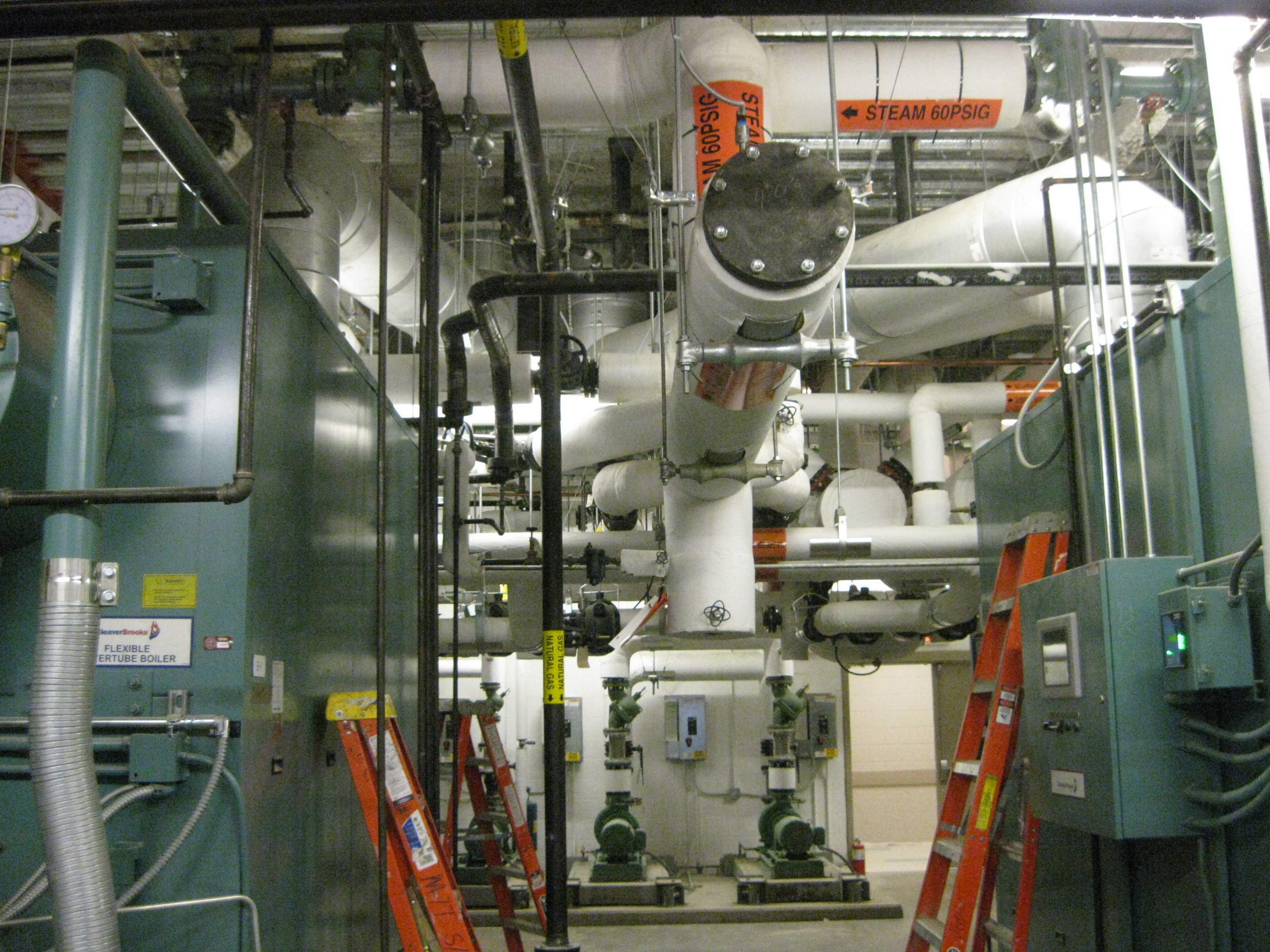 Boilers at University of Tennessee Translational Sciences Research