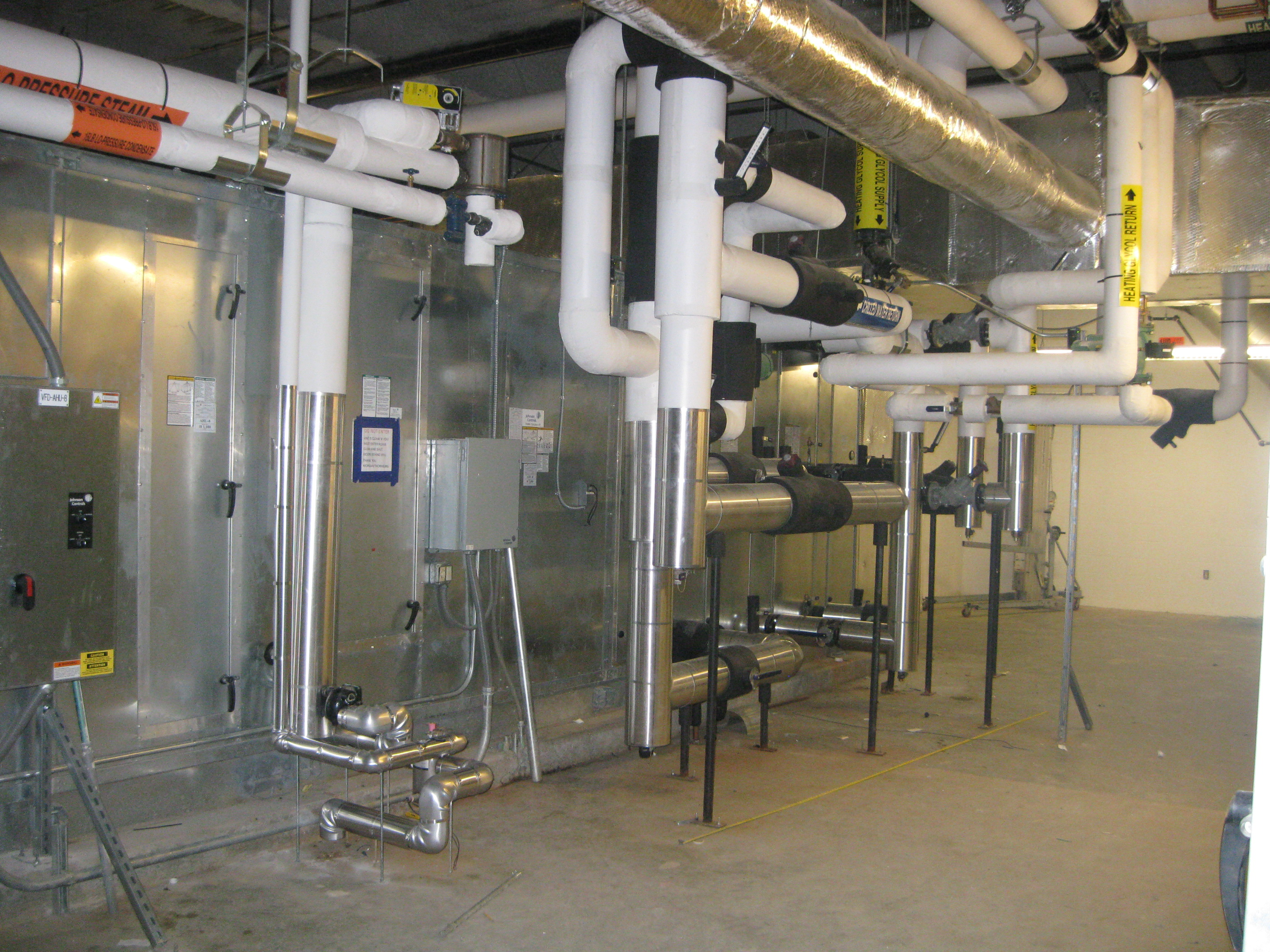 Air Handler at University of Tennessee Translational Sciences Research
